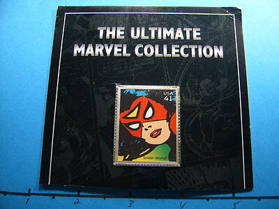 Spider-Woman Enamel Vintage Marvel 999 Silver Bar Coin Carded Only On Ebay