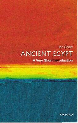 Ancient Egypt: A Very Short Introduction by Ian Shaw (English) Paperback Book Fr