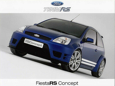 Ford Fiesta Rs Concept: New Release & Three Colour Photos,