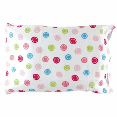 Luvable Friends Infant Pillow Case, Traditional Pink Print New