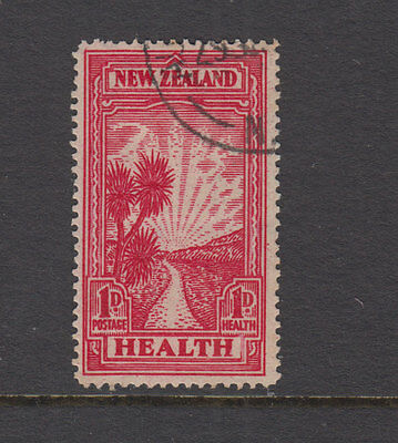 NEW ZEALAND 1933 1d Red Pathway HEALTH- SG553 Cat £21+ VFU