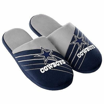 Pair Dallas Cowboys Big Logo Slide Slippers - Team Color House shoes BLG16 Style