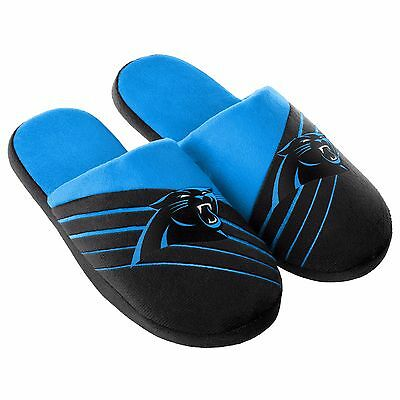 Pair Carolina Panthers Big Logo Slide Slippers Team Color House shoes BLG16 Styl