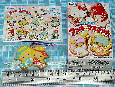 Sanrio Jimmy & Patty Biscuit Shaped Mascot Keychain, 1pc - Re-ment  , h#3