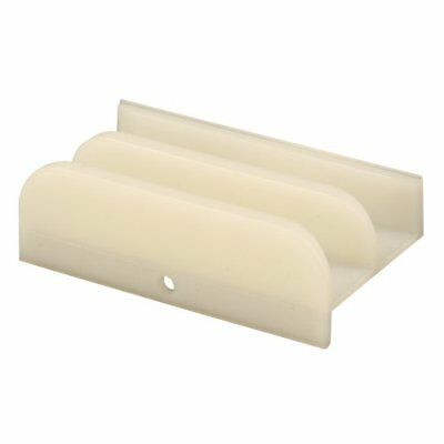 Prime-Line Products M 6219 Sliding Shower Door Bottom Guide, 1/2 in. x 3 in.,