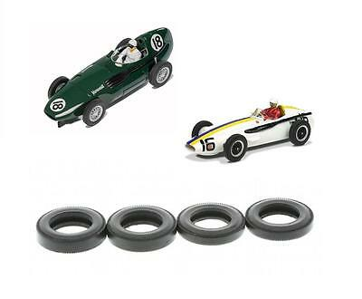 New Scalextric W8922 Tyres For Classic Vanwall & Maserati Grand Prix Legend Cars