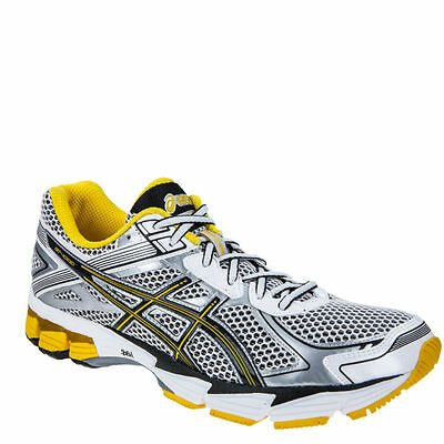 Asics Gt 1000-2 Men's Running Shoes Trainers White Onyx Yellow
