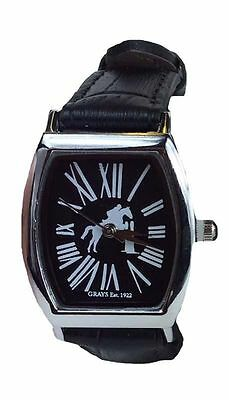 Gray's Heritage Leather Strap Watch Dressage Or Eventing Design