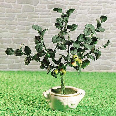 DOLLS HOUSE 1/12th SCALE APPLE TREE IN POT