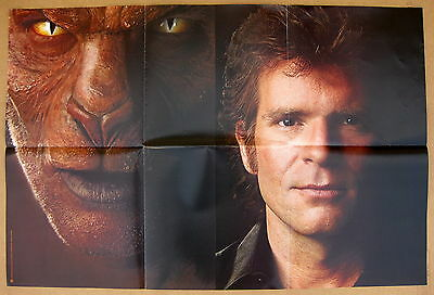 JOHN FOGERTY Eye Of The Zombie 1986 US Promo Poster CCR Creedence