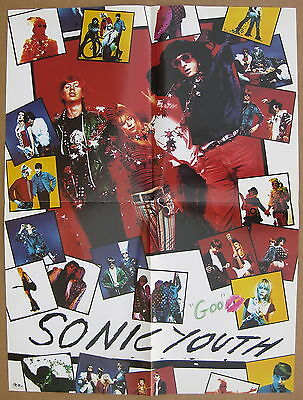 SONIC YOUTH Goo 1986 US Promo POSTER Minty! KOOL THING DIRTY BOOTS