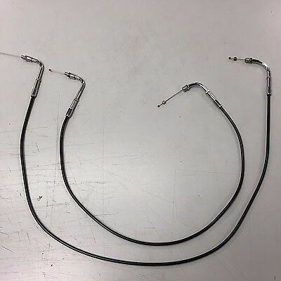 Harley-Davidson XR750 Throttle Cable Set Harley XR-750 Harley Racing Cable New