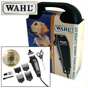 New 2013 Model Wahl Animal Pet Dog Hair Grooming Clipper Trimmer DVD & Case