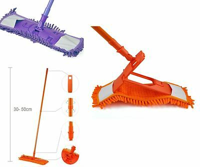 Microfibre Noodle Mop Cleaning Multifunctional Wet or Dry Extendable Sweeper