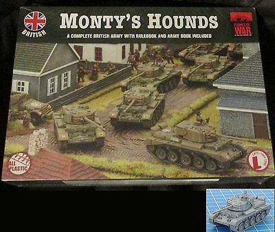 Flames of War BRAB08 WWII British Monty's Hounds Complete Army Set Tanks Rules