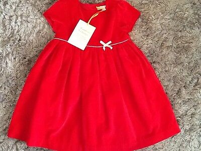 John Lewis Baby Girls, Red Heirloom Collection Dress, 12-18 Months