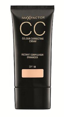 MAX FACTOR CC colour correcting cream 30ml choose your shade