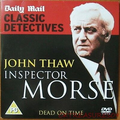 Inspector Morse Dvd Classic Detectives Series John Thaw Dead On Time
