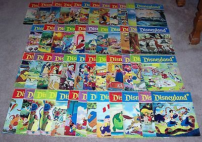 Disneyland Magazine For Young/ Beginning Readers Lot Of 48 Issues (1972- 1974)