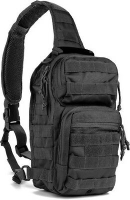 "Red Rock Outdoor Gear Rover Sling Pack Black 80129BLK Measures: 8"" x 5.5"" x 11.5"