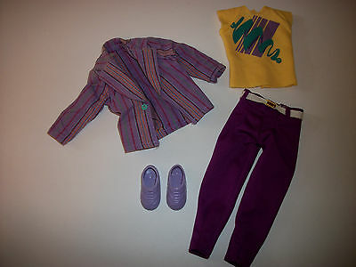 Jem Holograms 80's Doll Clothes Fashion Accessory Outfit #2