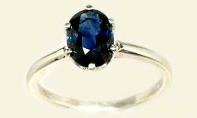 Antique 19thC 1 2/3ct Sapphire Ancient Etruscan Greek Roman Gem Prophets Oracles