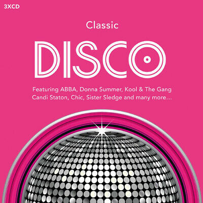 Various Artists : Classic Disco CD (2015)