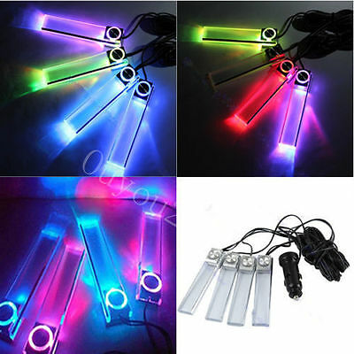 Coche Charge 7 Color 4 in1 Truck LED Interior Decor Floor Decorative Light 12V