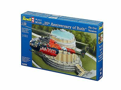 Revell - BO 105 35th Anniversary of Roth Fly-Out Version, 1:32, NEU, OVP, 04906