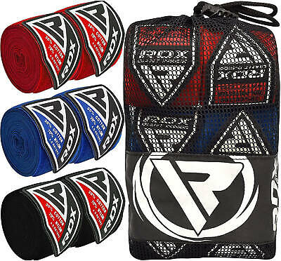 RDX MMA Boxing Hand Wraps Inner Gloves Protector Muay Thai Bandages Mitts CA