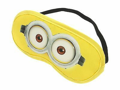 Official Licensed Minions Eye Mask Travel Sleep Mask Minion Made
