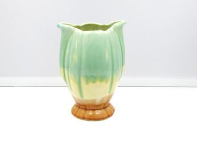 Vintage Australian Pottery : Diana Ware Medium Size Tulip Table Vase