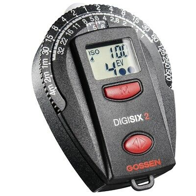 Gossen Digisix Exposure Meter, incident and reflected light measuring mode