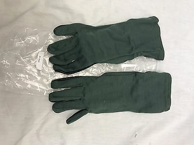 USGI Nomex Pilot flight glove Sage Black XL Aviation SEALs NSW Navy Air Force