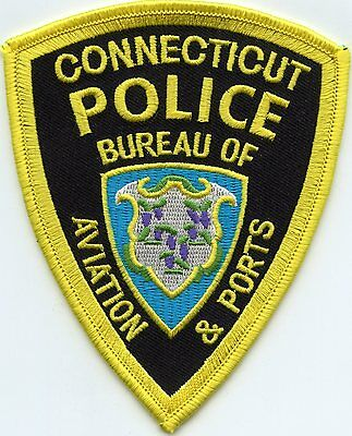 Connecticut Ct State Bureau Of Aviation And Ports Police Patch