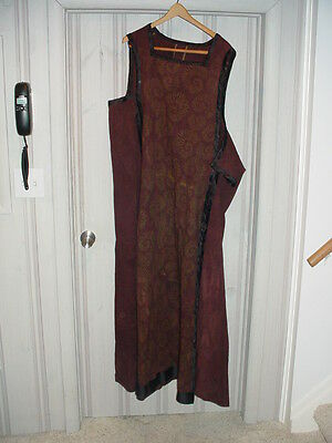 Medieval Gown w/pants Planet of the Apes Civilian Ape Costume (2001 Tim Burton)