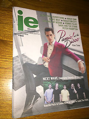 Illinois Entertainer Magazine/Paper -March 2016_Panic! at the Disco on cover