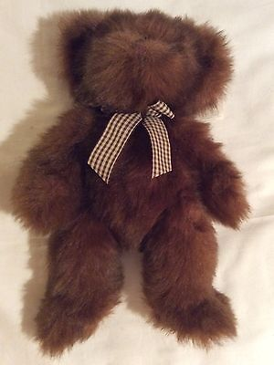 Russ Bears from the Past 'Picadilly' brown teddy with tags