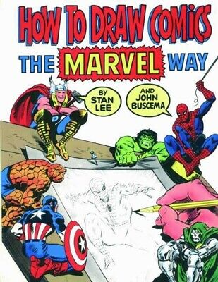 How to draw comics the Marvel way by Stan Lee (Paperback)