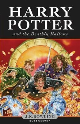 Harry Potter and the Deathly Hallows by J.K. Rowling (Paperback)