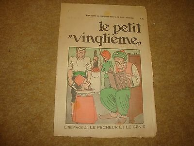 1932 Le Petit Vingtieme with Tintin in America