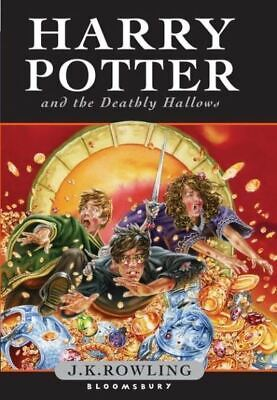 Harry Potter and the Deathly Hallows by J.K. Rowling (Hardback)