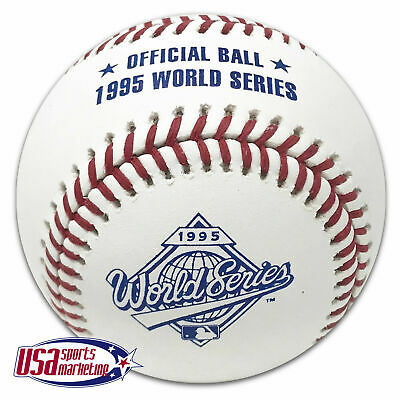 Rawlings 1995 World Series Official MLB Game Baseball Atlanta Braves - Boxed