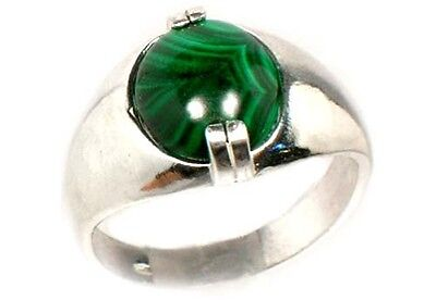 18thC Antique 6ct Malachite Ancient Talisman Sorcery Witches Disease Protection • CAD $177.07