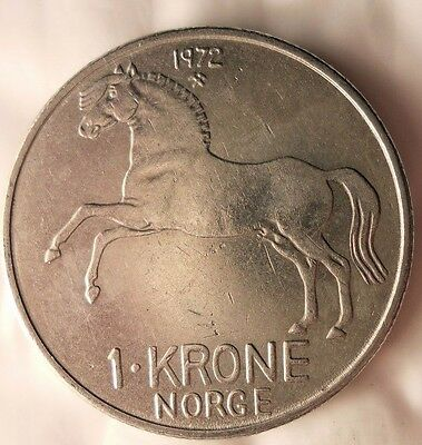 Free Shipping Excellent Vintage Coin 1956 NORWAY 10 ORE Norway Bin #3