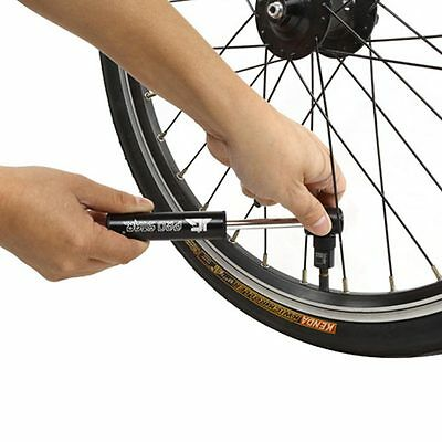 Portable Mountain Bike Bicycle Mini Tire Air Pump Inflator to Presta JG-1026 New