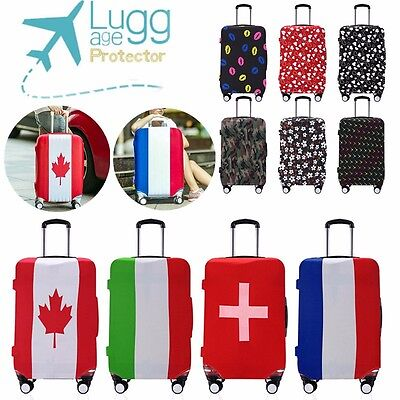 20-28'' Suitcase Cover Travel Luggage Protector Durable Dust proof Elastic Bag