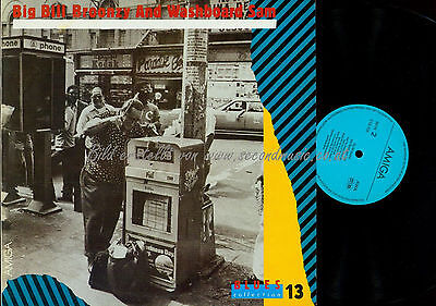 LP-- Big Bill Broonzy And Washboard Sam – Blues Collection 13