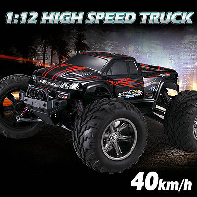 1/12 Scale 40KMH 2.4GHz RC Truggy 4WD Buggy High Speed Monster Truck Racing Car