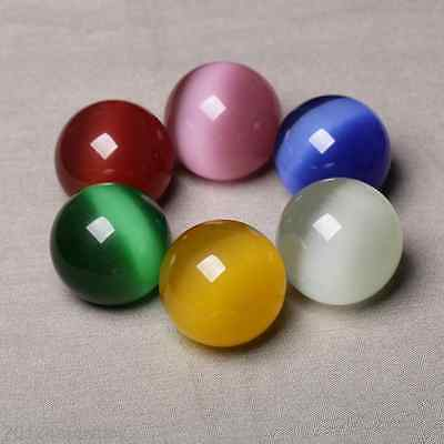 50/100Pcs Cats Eye's Bead Loose Round Spacer Beads Making Jewellery DIY Gift 8mm